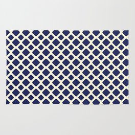 Square pattern III Rug