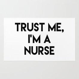 Trust me I'm a nurse Rug