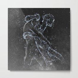 The love protection. Metal Print