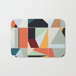 Abstract Composition 567 Bath Mat