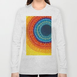 African American Masterpiece The Eclipse by Alma Thomas Long Sleeve T-shirt