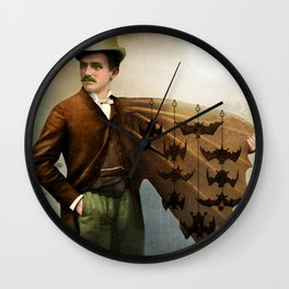 The Salesman Wall Clock