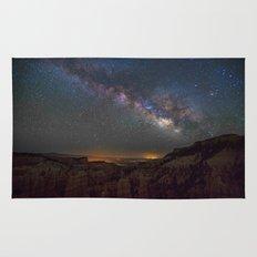 Fairyland Canyon Starry Night Photography Rug