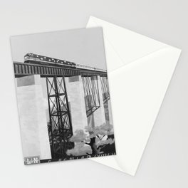 retro vintage The Old Reliable poster Stationery Cards