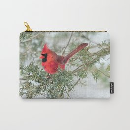 Cocky Cardinal Carry-All Pouch