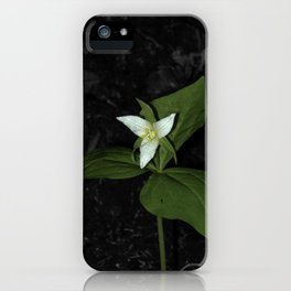 Forest Flower iPhone Case