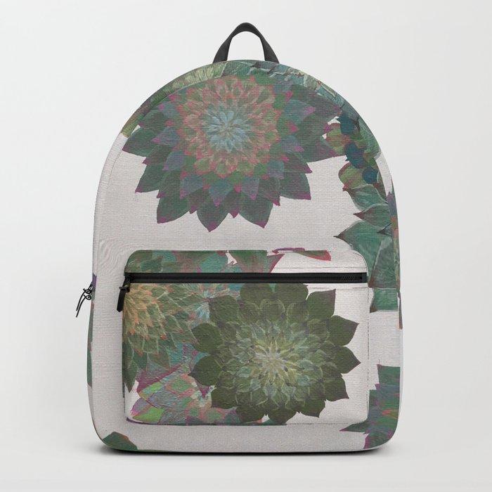 Succulent Spiral Backpack