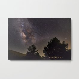 Milkyway at the mountains. Saggitarius Antares and Rho Ophiuchus Metal Print
