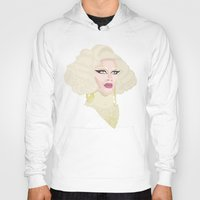 rupaul Hoodies featuring Pearl Liaison by KnoblArt