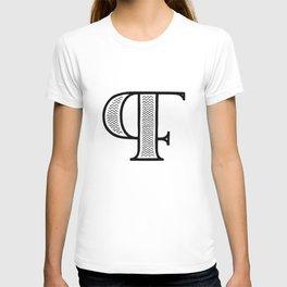 PF monogram T-shirt