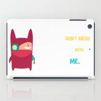 ninja iPad Cases featuring Ninja by Joy Pham