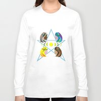 goddess Long Sleeve T-shirts featuring Goddess by Watch House Design