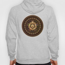 The Five Fractal Jeweled Elements of Qi Gong Hoody