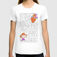 labyrinth T-shirts featuring labyrinth by Christina Tsevis