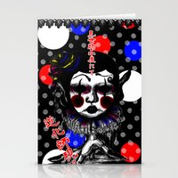 clown Stationery Cards featuring CLOWN by AKIKO