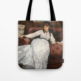 The Rest, portrait of Berthe Morisot by Edouard Manet Tote Bag