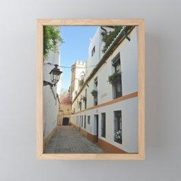 Streets of Seville Framed Mini Art Print