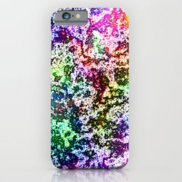 Funky Grungy Rainbow iPhone Case