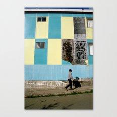 Point Arena Man Canvas Print