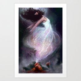 The Side Effect Art Print