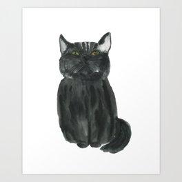 narcissistic cat Art Print