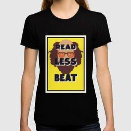 Read Less Beat - Allen Ginsberg T-shirt