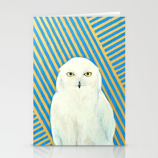 Chester the Owl Stationery Cards