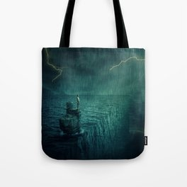 At the edge of Nothing Tote Bag