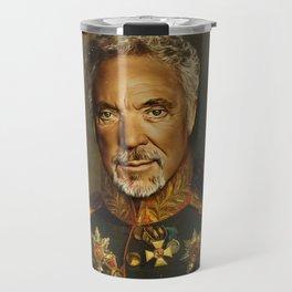 Sir Tom Jones - replaceface Travel Mug