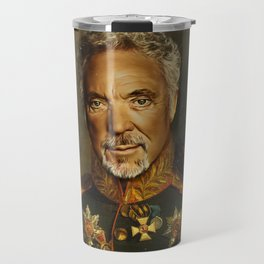 Sir Tom Jones - replaceface Travel Mug
