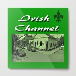 Irish Channel 504 Metal Print