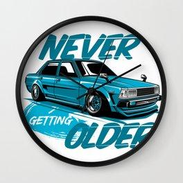 Corolla DX Blue Wall Clock