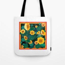 floral bear Tote Bag