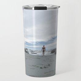 Nude to the Sea Travel Mug