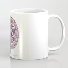 Untitled (tree), etching Coffee Mug