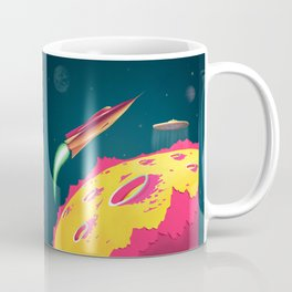 FLYING SAUCERS ATTACK Coffee Mug