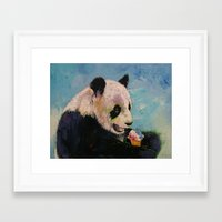 ice cream Framed Art Prints featuring Ice Cream by Michael Creese