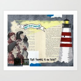 When Coastal Comforts Become Hard to Come By Art Print