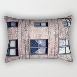 Across the Street, New York City, Queens Rectangular Pillow