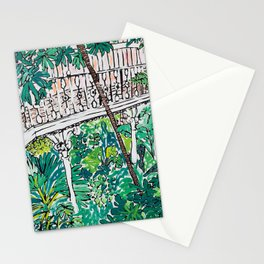 Kew Gardens Jungle Botanical Painting Greenhouse Stationery Cards