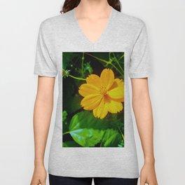 Large-flower Tickseed Unisex V-Neck