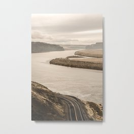 Columbia River Road Trip - Adventure Travel Photography Metal Print