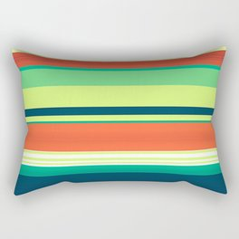 Filling Fields Rectangular Pillow