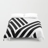 hello Duvet Covers featuring Hello by fly fly away