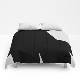 Abstract Form 03 Comforters
