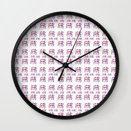 1776-Declaration of Independence Wall Clock