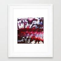 rebel Framed Art Prints featuring REBEL by ....