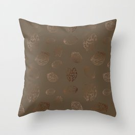 Christmas Plates, Wall Tapestry, Figs, Throw-pillows Throw Pillow