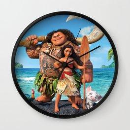 Moana 3 Wall Clock