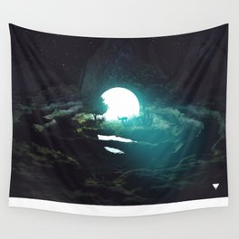 DEER IN THE HEADLIGHTS ∀ Wall Tapestry